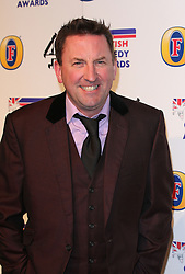 LEE MACK attends the British Comedy Awards at Fountain Studios, London, England, December 12, 2012. Photo by i-Images.