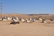 Israel, Negev Desert, Bedouin Cemetery