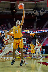 NORMAL, IL - February 05: Mileek McMillan during a college basketball game between the ISU Redbirds and the Valparaiso Crusaders on February 05 2019 at Redbird Arena in Normal, IL. (Photo by Alan Look)