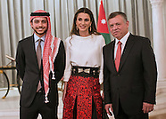 Jordanian Royals Attend Independence Ceremony