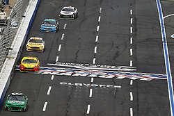September 30, 2018 - Concord, North Carolina, United States of America - Daniel Hemric (8) races during the Bank of America ROVAL 400 at Charlotte Motor Speedway in Concord, North Carolina. (Credit Image: © Chris Owens Asp Inc/ASP via ZUMA Wire)