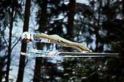 Poland, Wisla Malinka - 2017 November 19: Piotr Zyla from Poland soars through the air during FIS Ski Jumping World Cup Wisla 2017/2018 - Day 3 at jumping hill of Adam Malysz on November 19, 2017 in Wisla Malinka, Poland.<br /> <br /> Mandatory credit:<br /> Photo by &copy; Adam Nurkiewicz<br /> <br /> Adam Nurkiewicz declares that he has no rights to the image of people at the photographs of his authorship.<br /> <br /> Picture also available in RAW (NEF) or TIFF format on special request.<br /> <br /> Any editorial, commercial or promotional use requires written permission from the author of image.