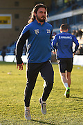 Gillingham midfielder Bradley Dack returns to the squad ahead of  the Sky Bet League 1 match between Gillingham and Walsall at the MEMS Priestfield Stadium, Gillingham, England on 12 April 2016. Photo by Martin Cole.