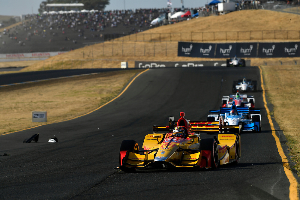 Verizon IndyCar Series<br /> GoPro Grand Prix of Sonoma<br /> Sonoma Raceway, Sonoma, CA USA<br /> Sunday 17 September 2017<br /> Ryan Hunter-Reay, Andretti Autosport Honda<br /> World Copyright: Scott R LePage<br /> LAT Images<br /> ref: Digital Image lepage-170917-son-11069