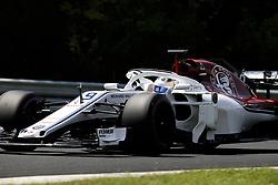 July 28, 2018 - Budapest, Hungary - Motorsports: FIA Formula One World Championship 2018, Grand Prix of Hungary, .#9 Marcus Ericsson (SWE, Alfa Romeo Sauber F1 Team) (Credit Image: © Hoch Zwei via ZUMA Wire)