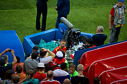 MOSCOW, RUSSIA - Sunday, July 1, 2018: Adios... Spain's Sergio Ramos walks off dejected after losing 4-3 on penalties during the FIFA World Cup Russia 2018 Round of 16 match between Spain and Russia at the Luzhniki Stadium. (Pic by David Rawcliffe/Propaganda)