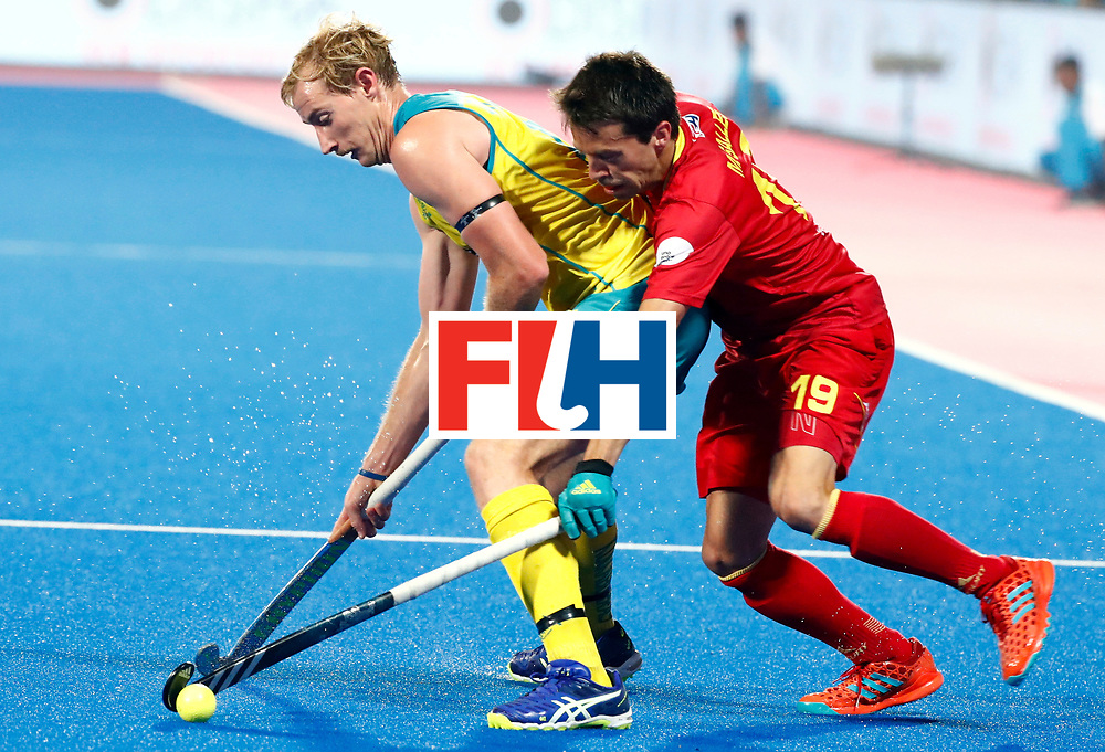 Odisha Men's Hockey World League Final Bhubaneswar 2017<br /> Match id:15<br /> Spain v Australia<br /> Foto: Alejandro de Frutos (Esp) <br /> COPYRIGHT WORLDSPORTPICS KOEN SUYK