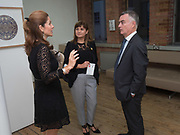 DAVINA BARBARA; SARAH-JANE COLLINSON, IAN COLLINSON, Gibraltar as seen by five artists. private view hosted by the Chief Minister of Gibraltar. Art Bermondsey project Space. 24 October 2017