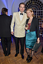 WILFRED FROST and MARIELLA LAIT at the Sugarplum Dinner in aid Sugarplum Children a charity supporting children with type 1 diabetes and raising funds for JDRF, the world's leading type 1 diabetes research charity held at One Marylebone, London on 18th November 2015.