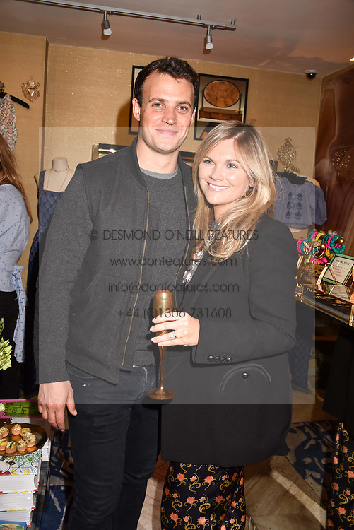 Tom & Lucia Dailey at the Seren London Launch Party held at Baar And Bass, 336 Kings Road, London England. 26 April 2017.