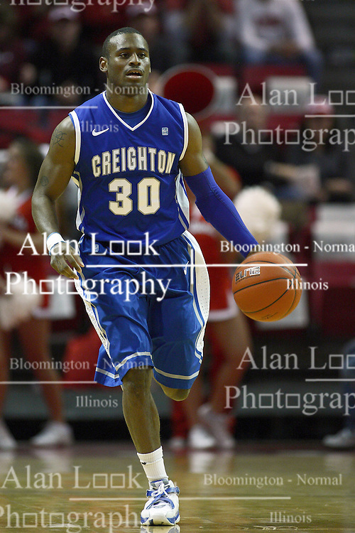 13 January 2012:  Antoine Young during an NCAA Missouri Valley Conference mens basketball game where the Creighton Bluejays topped the Illinois State Redbirds 87-78 in Redbird Arena, Normal IL