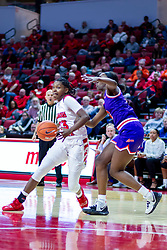 NORMAL, IL - January 05: Juliunn Redmond during a college women's basketball game between the ISU Redbirds and the Purple Aces of University of Evansville January 05 2020 at Redbird Arena in Normal, IL. (Photo by Alan Look)