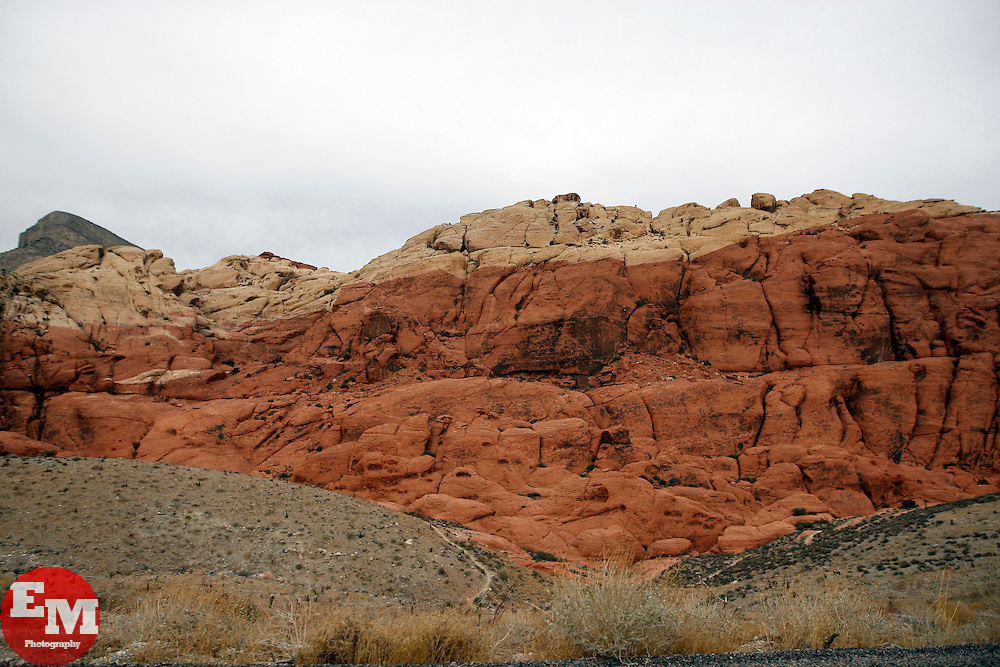 Nov 11, 2009; Las Vegas, NV, USA; Scenics from the Red Rock Canyon in Las Vegas, Nevada.
