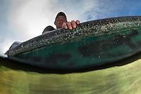 Danube Delta fisherman, Florin Moisa, Crisan, Danube Delta, Crisan, Romania.
