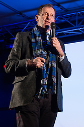 London, UK. 15th January, 2019. Alastair Campbell, journalist, broadcaster, political aide and author, addresses pro-EU activists attending a People's Vote rally in Parliament Square as MPs vote in the House of Commons on Prime Minister Theresa May's proposed final Brexit withdrawal agreement.