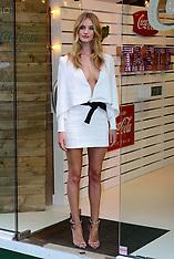 SEP 19 2014 Rosie Huntington-Whiteley  at Coca-Cola launch