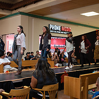 Models for the Maurices store walk the runway on September 21, 2019, for the 5th Annual Fall Fashion Show at the Rio West Mall in Gallup.
