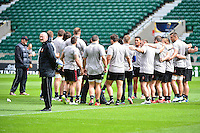 Bernard LAPORTE - 01.05.2015 - Captains' Run de Toulon avant la finale - European Rugby Champions Cup -Twickenham -Londres<br /> Photo : David Winter / Icon Sport