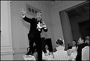 EDWARD RISING; AUCTIONEER,, The St. Petersburg Ball. In aid of the Children's Burns Trust. The Landmark Hotel. Marylebone Rd. London. 14 February 2015.