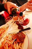 "L'Entrecote ""Relais de Venise"" at Porte Maillot, Paris....Photo by Owen Franken"