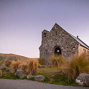 Church of the Good Shepherd at Lake Tekapo, South Island, New Zealand