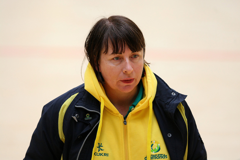Australia's coach Lisa Alexander at their  training session prior to the New World Netball Series match, Gore MultiSport Complex, Gore, New Zealand, Thursday, September 12, 2013. Credit:SNPA / Dianne Manson.