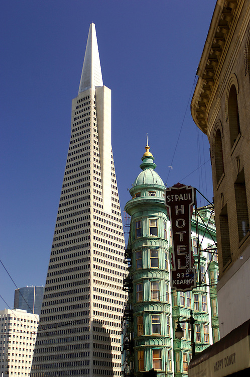 Transamerica Pyramid Building, North Beach, San Francisco, California, United States of America