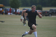 Thomas Allen attends the Southern Elite Combine at FNC Park in Oxford, Miss. on Wednesday, July 10, 2013.