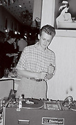 Peter McGowan DJing, London, UK, 1985