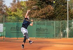 during Tennis Slovenian Championship 2018 for amateurs and veterans, on September 23, 2018 in Tivoli Tennis Center, Ljubljana, Slovenia. Photo by Urban Meglic / Sportida