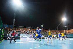 Luka Zvizej of Celje during handball match between RK Celje Pivovarna Lasso and RD Koper 2013 of Super Cup 2016, on August 27, 2016 in SRC Marina, Portoroz / Portorose, Slovenia. Photo by Matic Klansek Velej / Sportida