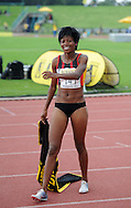 GERMISTON, SOUTH AFRICA, Saturday 25 February 2011, Mapaseka Makhanya, Winner 800m during the Yellow Pages Interprovincial held at the Herman Immelman stadium..Photo by ImageSA/ASA.