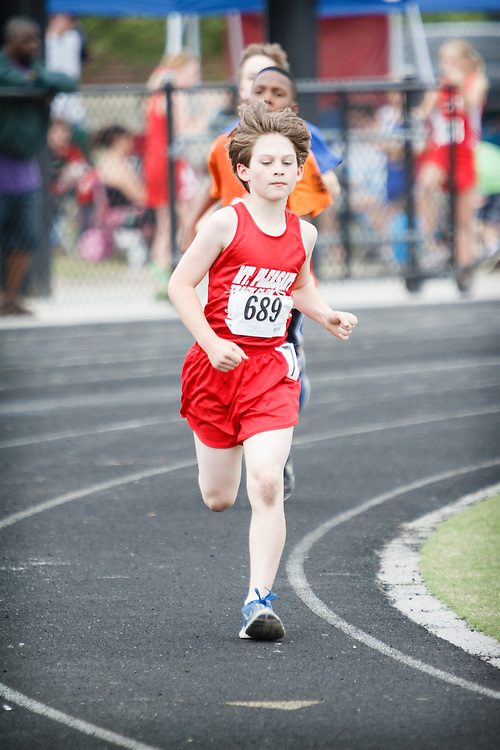 Image from the 2013 Summerville Track and Field Meet at Cane Bay High School track on April 27.