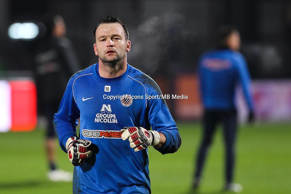 Geoffrey JOURDREN - 17.01.2015 - Metz / Montpellier - 21eme journee de Ligue 1<br />Photo : Fred Marvaux / Icon Sport