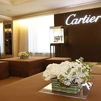 Cartier showroom .