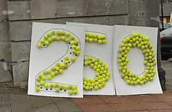Part of the Westport Tennis Club&rsquo;s display as part of the Westport 250 parade.<br />Pic Conor McKeown