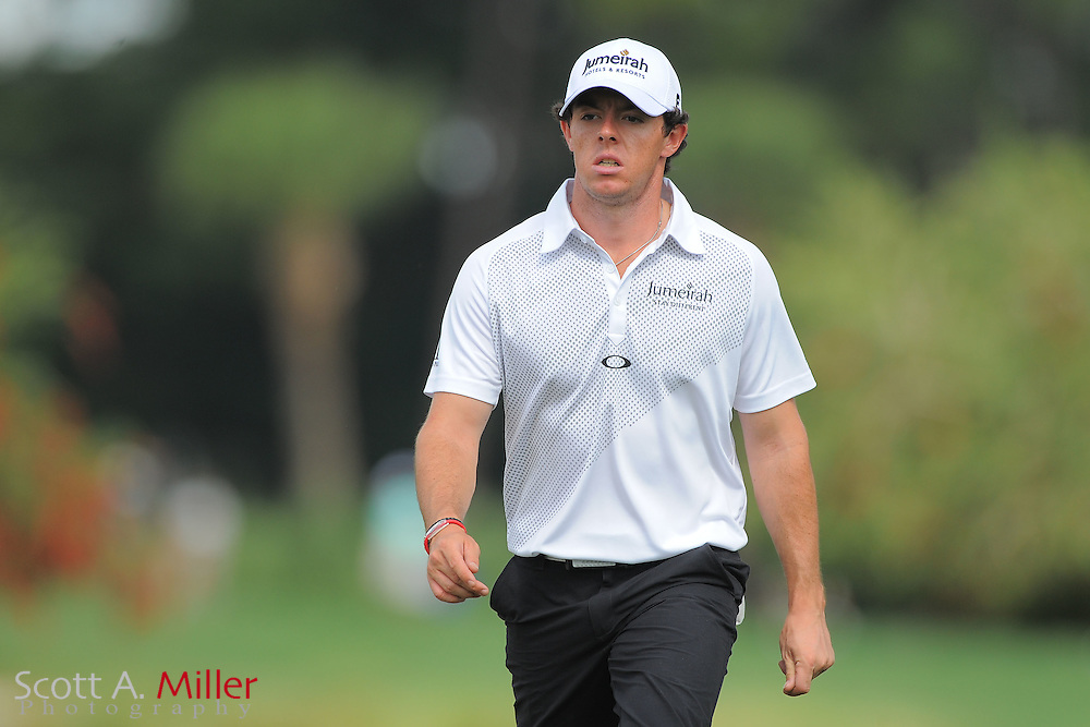 Rory McIlroy during the first round of the Honda Classic at PGA National on March 1, 2012 in Palm Beach Gardens, Fla. ..©2012 Scott A. Miller.