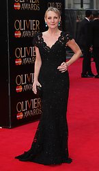 LESLEY SHARP attends The Laurence Olivier Awards at the Royal Opera House, London, United Kingdom. Sunday, 13th April 2014. Picture by i-Images