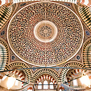The tomb of Sultan Selim II (reign 1566-1574) in which the Sultan, his wife Nurbana Sultan, along with other family members, including sons and daughters, are buried. It was the first tomb constructed in the Hagia Sophia cemetery. Designed by Architect Sinan in 1577, it features and octagonal plan with two domes and is decorated with Iznik tiles and calligraphy inscriptions. The cemetery of Hagia Sophia, next to the main building, contains five tombs belonging to Ottoman Sultans and their family members.