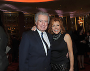 Regis and Joy Philbin attend the opening of the historic Rainbow Room at 30 Rockefeller Plaza, Wednesday, Oct. 1, 2014 in New York. (Photo by Diane Bondareff/Invision for Tishman Speyer/AP Images)