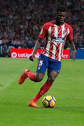 October 28, 2017 - Madrid, Spain - Thomas Partey..Draw at 1 in Wanda Metropolitano stadium. (Credit Image: © Jorge Gonzalez/Pacific Press via ZUMA Wire)