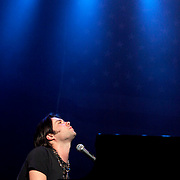 Rufus Wainwright performing onstage  during the &quot;Bring Them Home Now!&quot; concert on March 20, 2006 in New York City.<br /> <br /> &copy; Fernando Leon / Retna Ltd