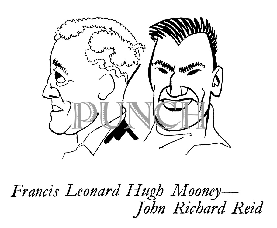 The New Zealanders ; the cricket team on tour<br /> Cricketers ; Francis Leonard Hugh Mooney and John Richard Reid