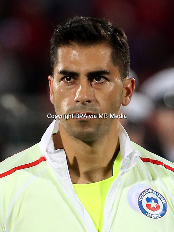 Conmebol_Concacaf - Copa America Centenario 2016 - <br /> Chile National Team - <br /> Johnny Herrera