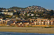 The coastal surf town of Pismo Beach, California