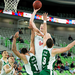 20140409: SLO, Basketball - Telemach League, KK Union Olimpija vs KK Krka