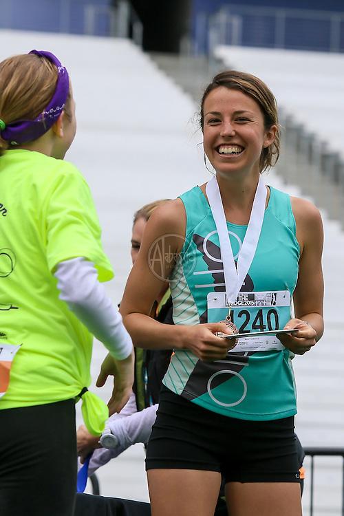 33rd Annual Nordstrom Beat the Bridge Run award winners - women's division.