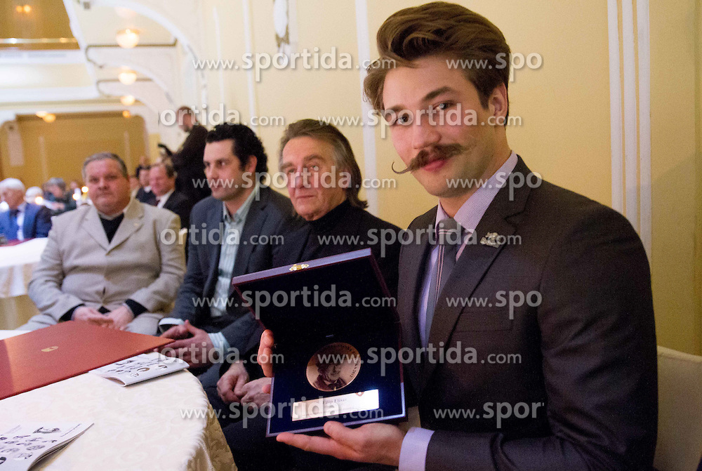 Filip Flisar at 48th Annual Awards of Stanko Bloudek for sports achievements in Slovenia in year 2012 on February 12, 2013 in Grand Hotel Union, Ljubljana, Slovenia. (Photo By Vid Ponikvar / Sportida)