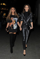 Jade Thirlwall and Danielle Peazer attend the PPQ show during London Fashion Week Fall/Winter 2015/16 in London, UK. 20/02/2015<br />BYLINE MUST READ : GOTCHAIMAGES.COM<br /><br />Copyright by © Gotcha Images Ltd. All rights reserved.<br />Usage of this image is conditional upon the acceptance <br />of Gotcha Images Ltd, terms and conditions available at<br />www.gotchaimages.com