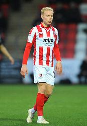 Ryan Broom of Cheltenham Town- Mandatory by-line: Nizaam Jones/JMP- 26/01/2019 - FOOTBALL - LCI Rail Stadium -Cheltenham, England - Cheltenham Town v Macclesfield Town - Sky Bet League Two